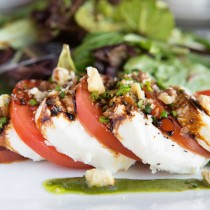 Tomato & Fresh Mozzarella Salad