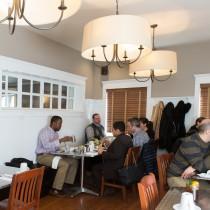 Classic Customers Enjoying Breakfast